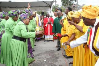 Shouters célébrant le Liberation Day