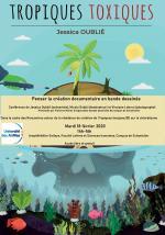 Affiche de la conférence sur Tropiques toxiques