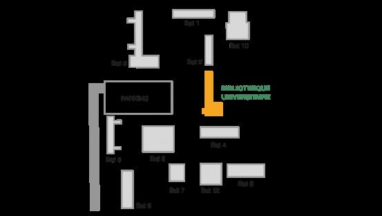 Plan du campus de Fort-de-France